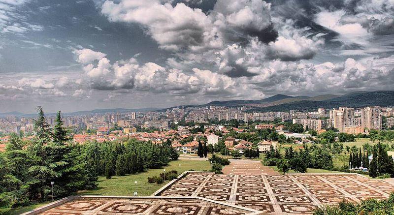 Панорама город Старая Загора