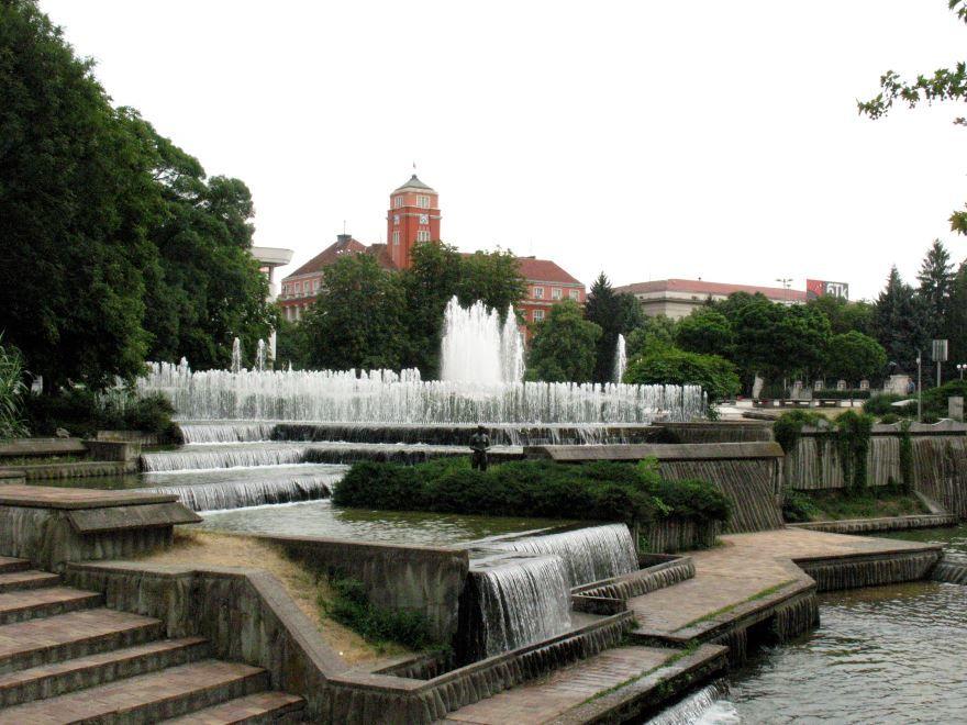 Центр города Плевен Болгария