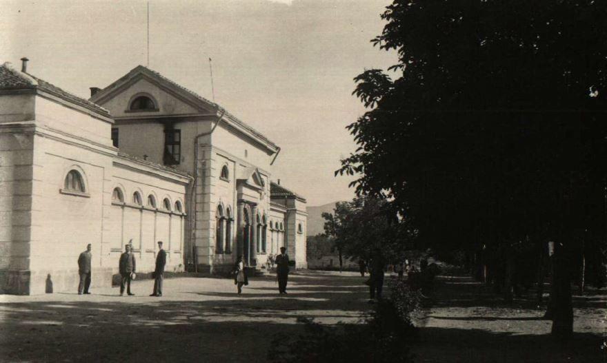 Старинное фото город Сливен