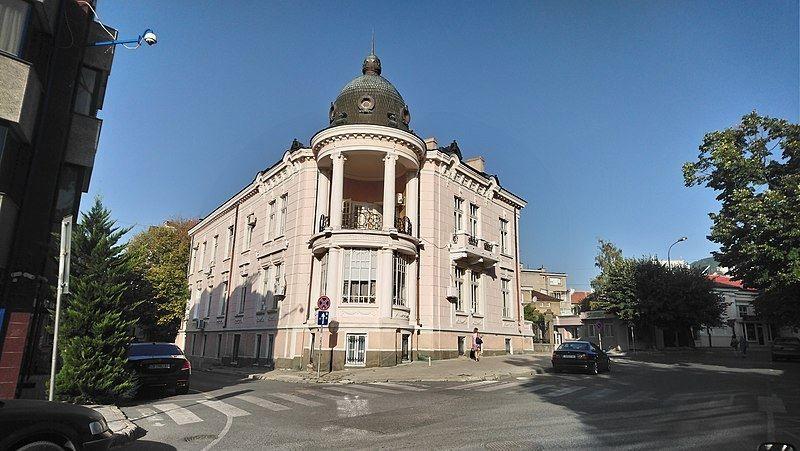 Улица город Сливен