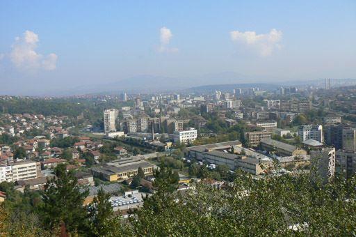 Скачать онлайн бесплатно лучшее фото вид на город Перник в хорошем качестве