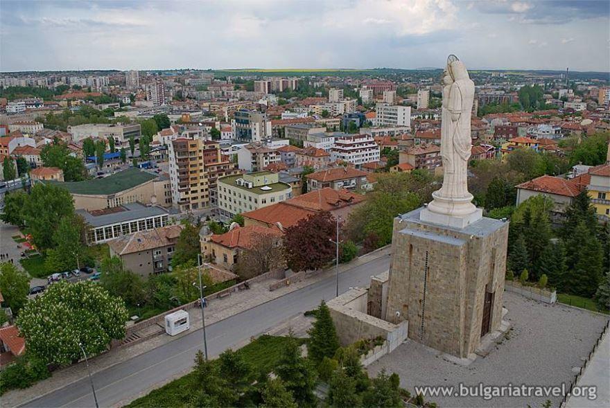 Вид на город Хасково Болгария