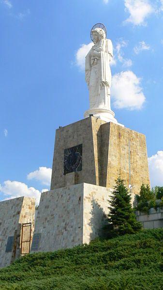 Монумент Святая Богородица город Хасково