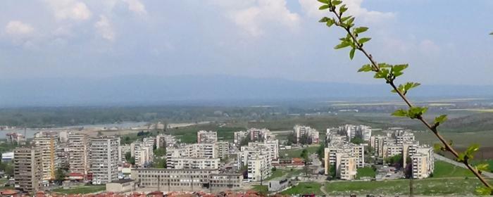 Вид на город Ямбол