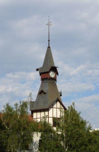 Часовая башня город Пазарджик