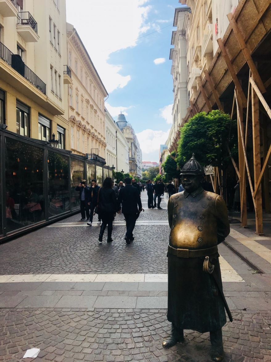 Город Будапешт 2018