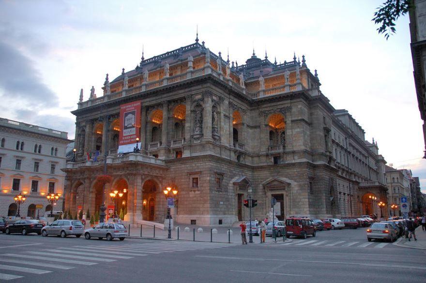 Улица город Будапешт