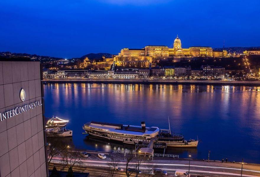 Фото ночного города Будапешт Венгрия