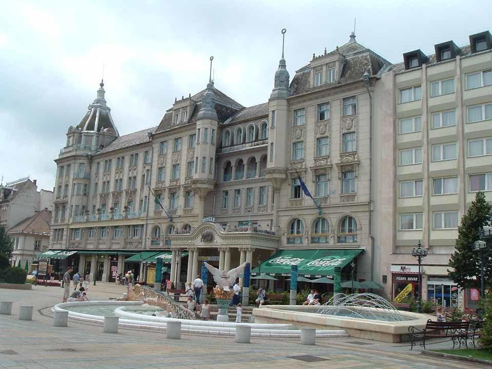 Улица города Дебрецен смотреть красивое фото