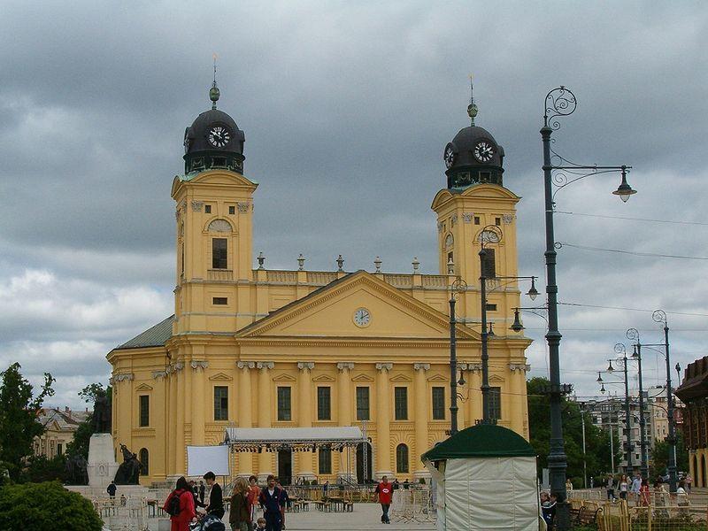 Большая церковь город Дебрецен