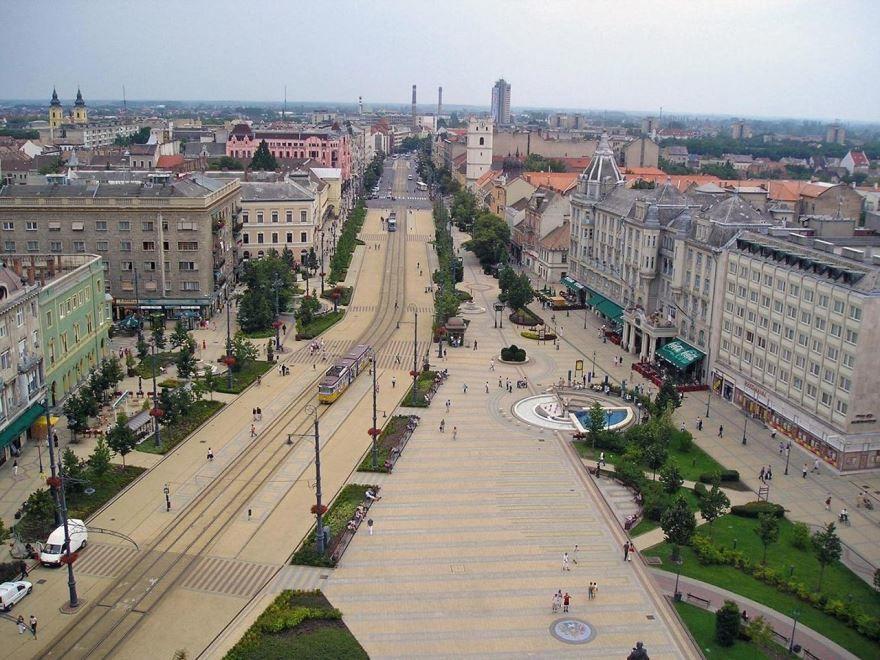 Панорама города Дебрецен 2018