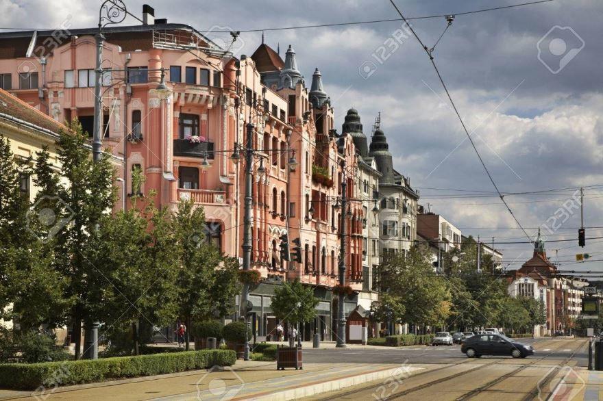 Улица город Дебрецен