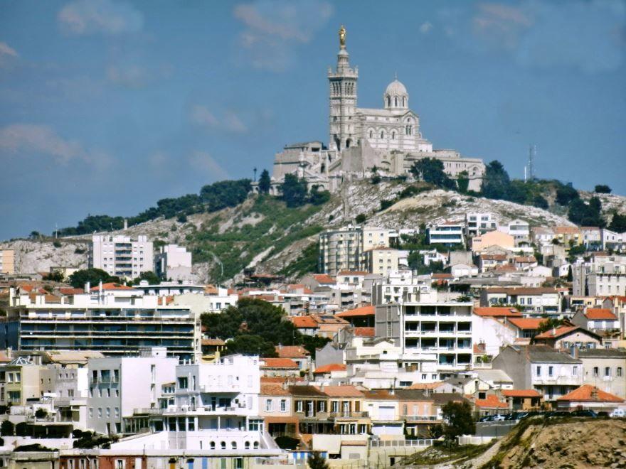 Фото город Марсель