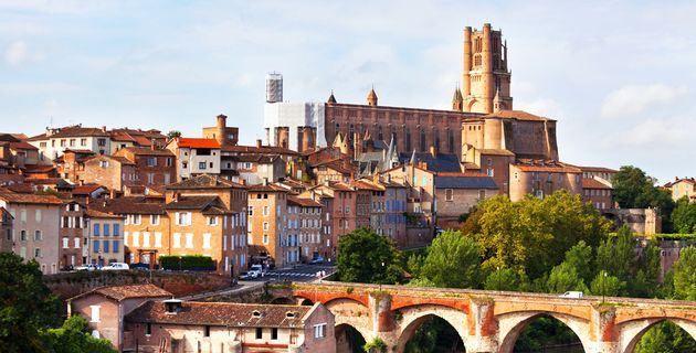 Вид на город Тулуза