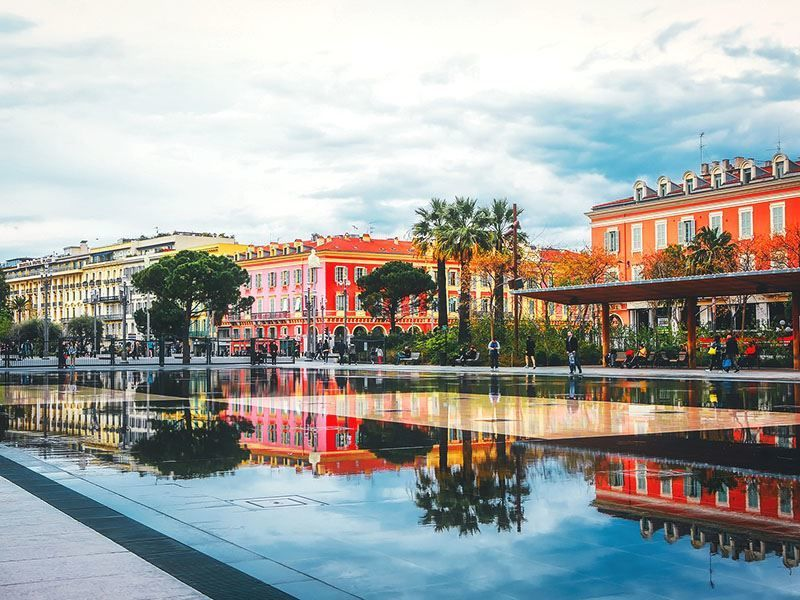 Фото город Ницца