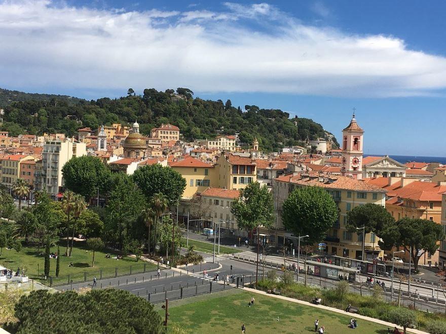 Скачать онлайн бесплатно лучшее фото город Ницца в хорошем качестве
