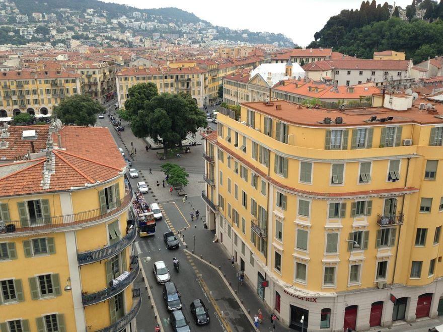 Улица город Ницца
