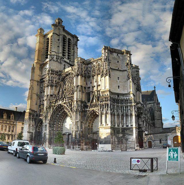 Фото город Нант Франция