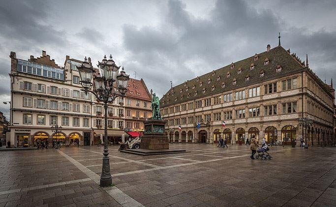 Фото город Страсбург Франция