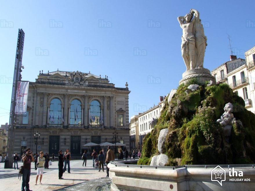 Фото города Монпелье Франция
