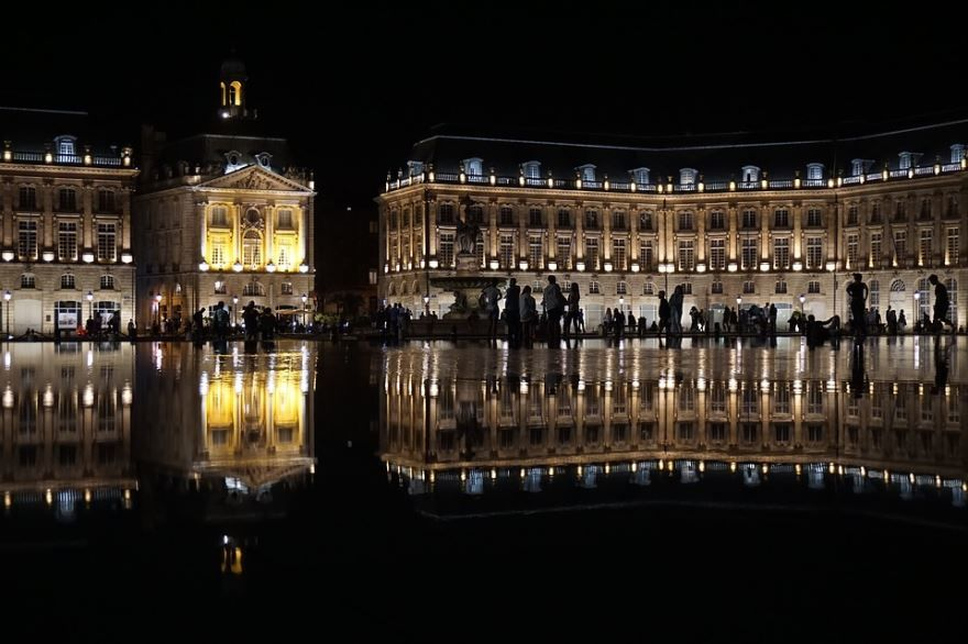 Скачать онлайн бесплатно лучшее фото города Бордо в хорошем качестве