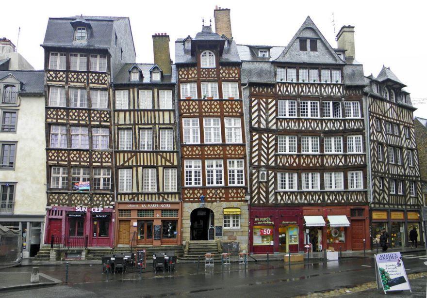 Фото город Ренн Франция
