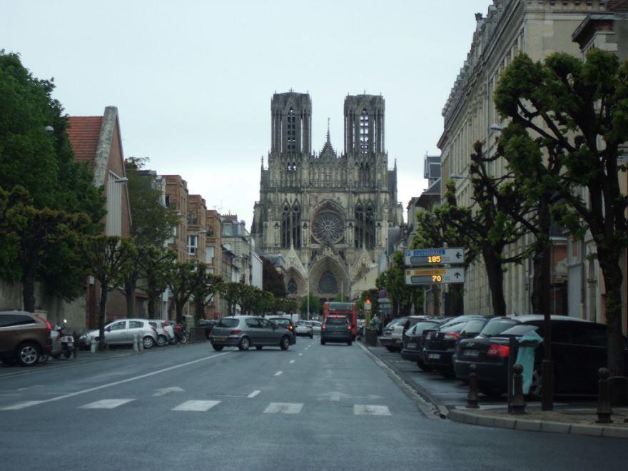 Улица город Реймс