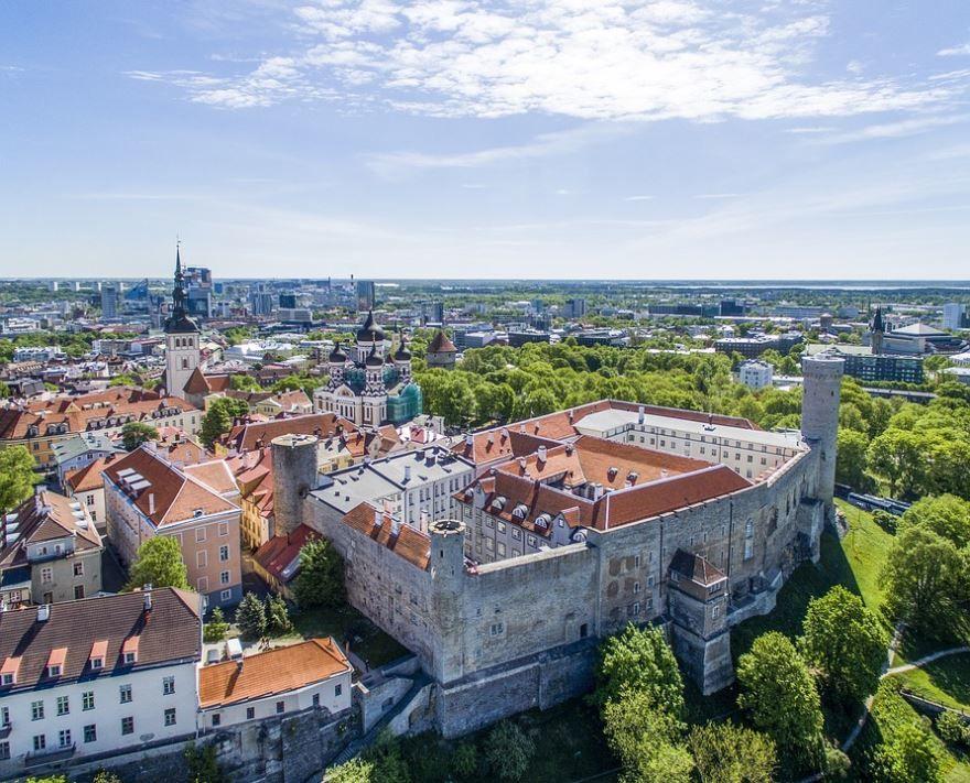 Фото города Таллин Эстония