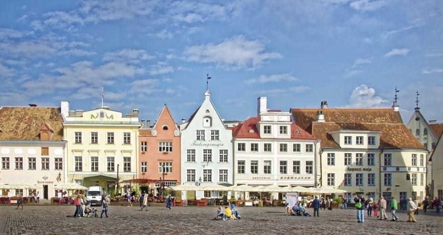 Исторический центр город Таллин