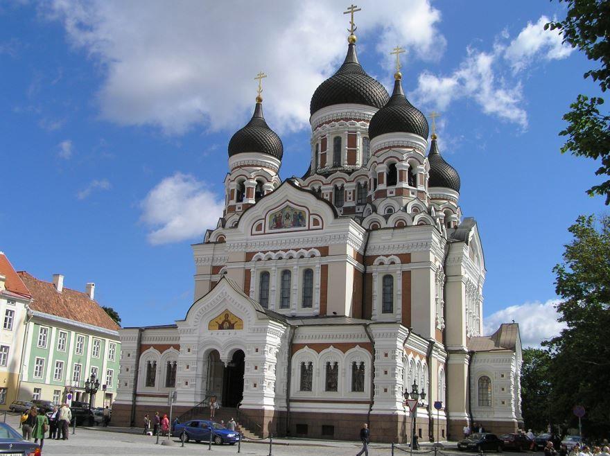 Православная церковь город Таллин