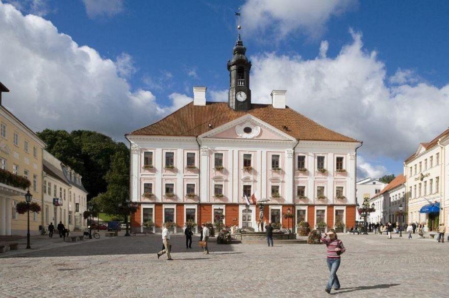 Фото города Тарту Эстония