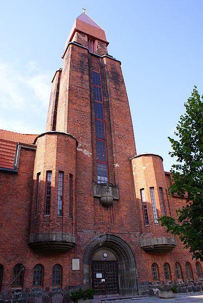 Церковь Павла город Тарту