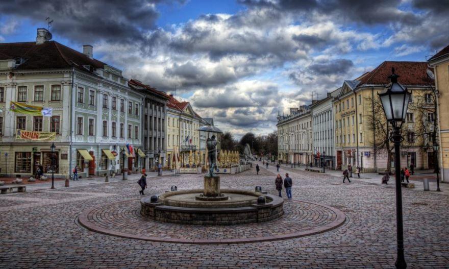 Площадь город Тарту