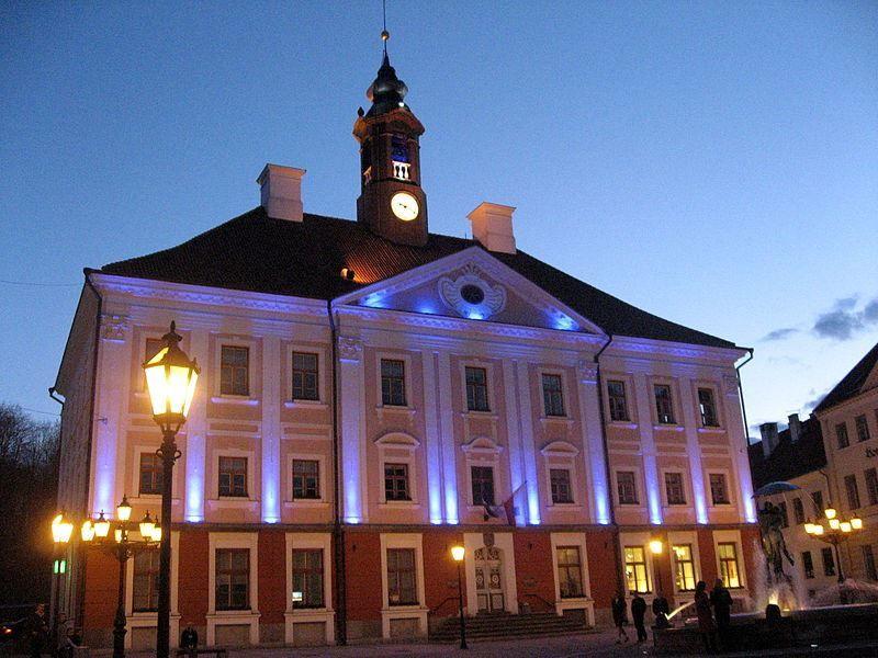 Ратуша город Тарту