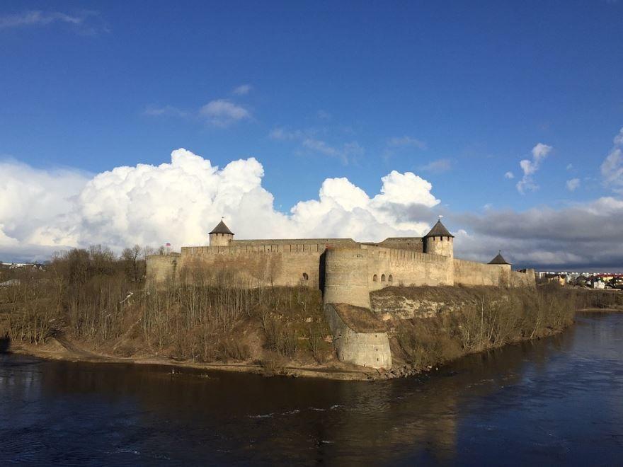 Фото города Нарва Эстония