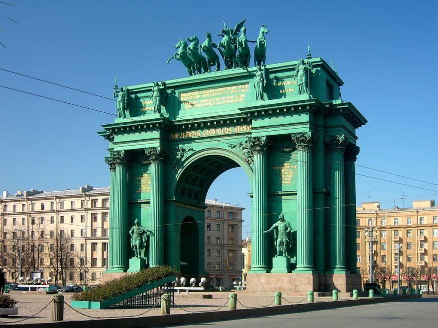Триумфальные арка город Нарва