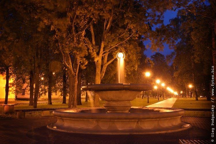 Парк Кескаллее город Кохтла Ярве