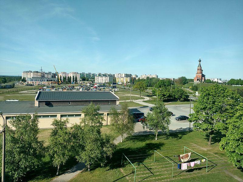 Смотреть красивое фото вид на город Маарду Эстония