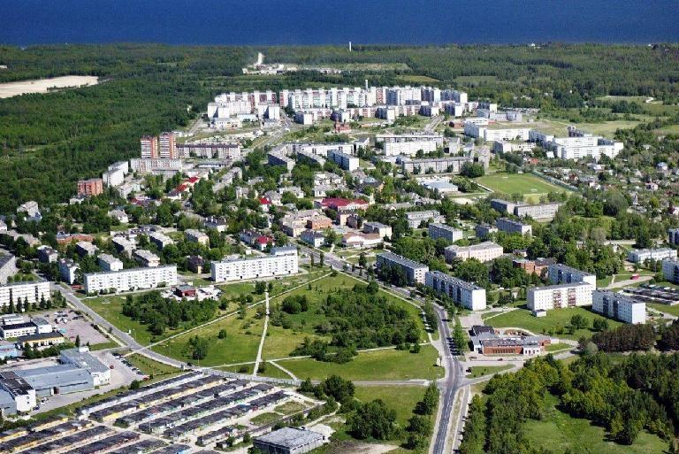 Панорама город Маарду