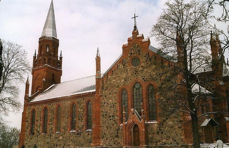 Церковь Андреаса город Вильянди