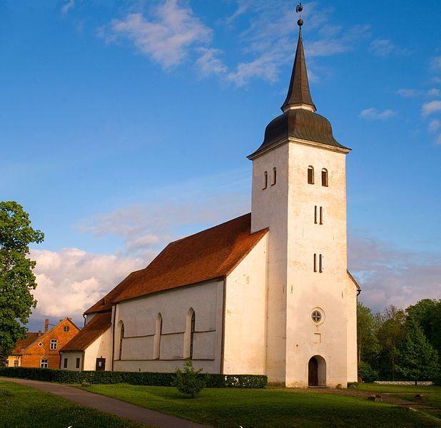 Церковь Вильянди Яна город Вильянди