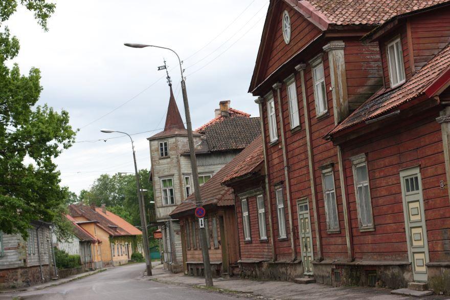 Улица город Вильянди