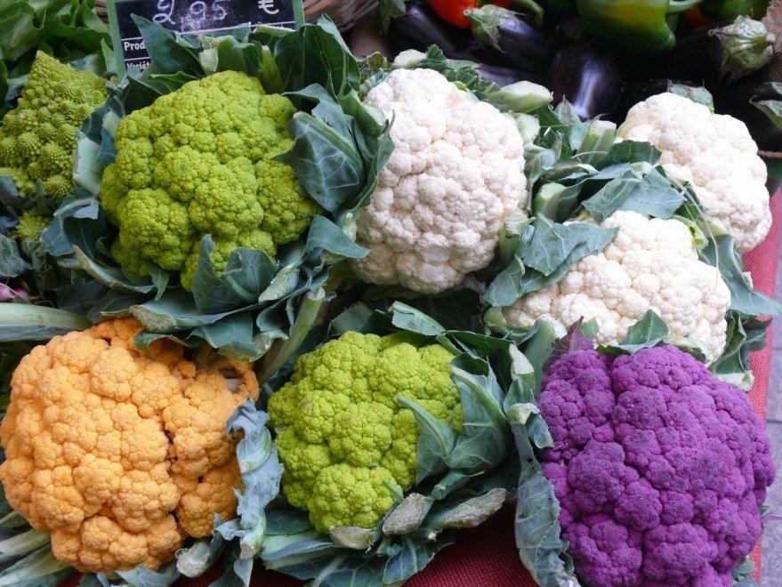 Фото и картинки свежей, цветной капусты для простых рецептов на зиму