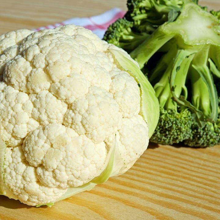 Скачать бесплатно фото цветной капусты для приготовления супа, или с сыром
