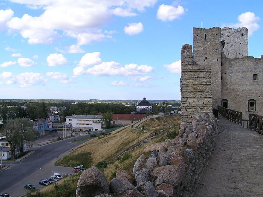 Фото города Раквере Эстония
