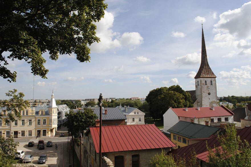 Панорама города Раквере