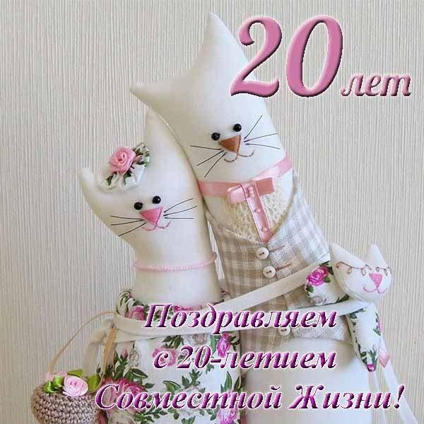 Фарфоровая свадьба - 20 лет