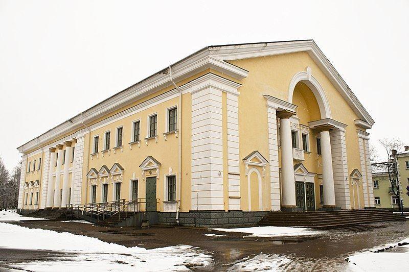 Дом культуры город Силламяэ
