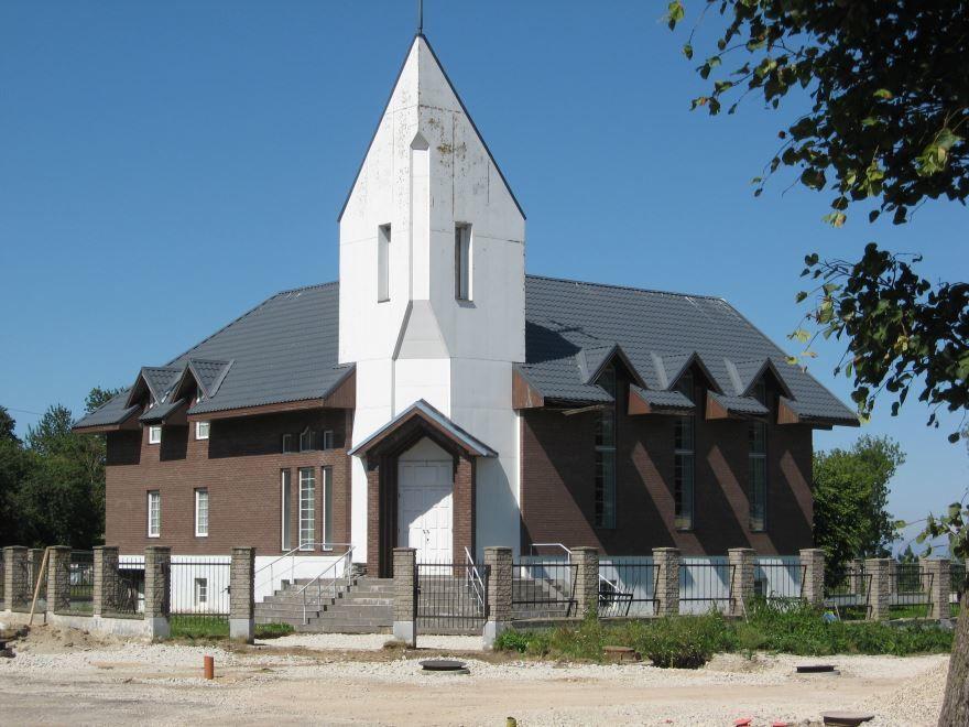 Католическая церковь город Силламяэ