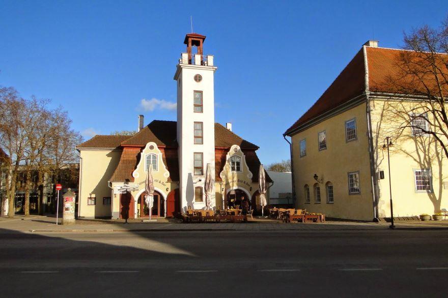 Фото города Курессааре Эстония